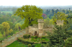 Castillo 2 de Warwick Fotografía de archivo