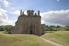 Castillo 3 de Caerlaverock Imágenes de archivo libres de regalías