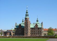 Castillo 3 de Rosenborg Fotografía de archivo