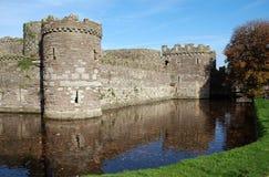 Castillo 44 de Beaumaris Imágenes de archivo libres de regalías