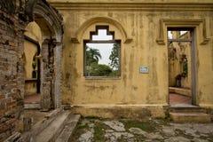 Castillo abandonado Imágenes de archivo libres de regalías