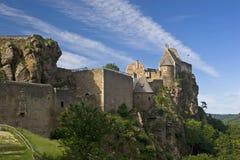 castillo Aggstein Imagen de archivo libre de regalías