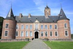 Castillo Alden Biesen en Bélgica Foto de archivo