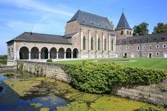 Castillo Alden Biesen en Bélgica Imagen de archivo libre de regalías
