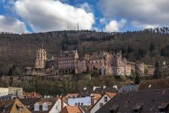 Castillo Alemania de Heidelberg Foto de archivo libre de regalías