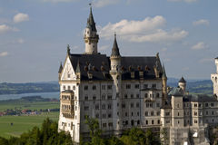 Castillo Alemania de Neuschwanstein Imagenes de archivo