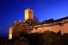 Castillo Alemania de Wartburg Foto de archivo libre de regalías