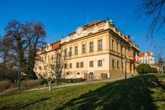 Castillo anterior en Liben, Praga imagen de archivo libre de regalías