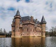 castillo antiguo de las Edades Medias imagenes de archivo