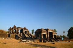 Castillo antiguo de Ratu Boko Imagen de archivo libre de regalías