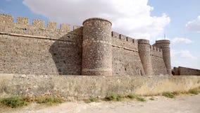 Castillo antiguo en la chinchilla de Monte Aragon almacen de video