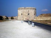 Castillo antiguo en los Dardanelos Turquía imagenes de archivo