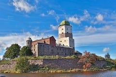 Castillo antiguo en Vyborg Fotografía de archivo libre de regalías