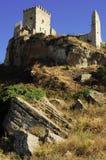 Castillo arruinado Imagen de archivo libre de regalías