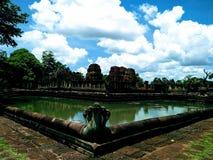 Castillo bajo de la piedra de la ciudad Fotografía de archivo libre de regalías