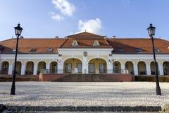 Castillo barroco en Pomaz fotos de archivo