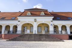 Castillo barroco en Pomaz Fotografía de archivo
