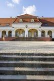 Castillo barroco en Pomaz imágenes de archivo libres de regalías
