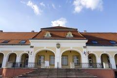 Castillo barroco en Pomaz fotografía de archivo libre de regalías