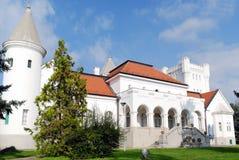 Castillo blanco Foto de archivo libre de regalías