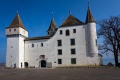 Castillo blanco auténtico Imágenes de archivo libres de regalías