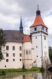 Castillo Blatna en Bohemia imagen de archivo