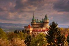 Castillo Bojnice Imagen de archivo libre de regalías