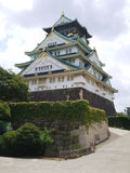 Castillo bonito del jio de Osaka Fotografía de archivo