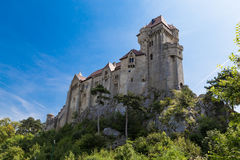 Castillo bosque de Liechtenstein, Viena, Austria Foto de archivo