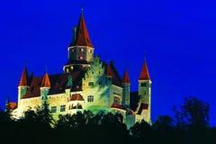 Castillo Bouzov del estado fotos de archivo