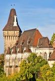 Castillo Budapest de Vajdahunyad. fotos de archivo