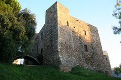 Castillo cartujo de Vallparadis Fotos de archivo libres de regalías