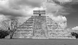 Castillo Castle at Chichen Itza. Royalty Free Stock Image
