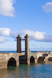 castillo castle de Gabriel SAN Στοκ φωτογραφία με δικαίωμα ελεύθερης χρήσης