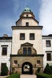 Castillo Castolovice de la República Checa Imagen de archivo libre de regalías