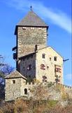 Castillo cerca de Klausen, Italia de Castel Branzoll Foto de archivo
