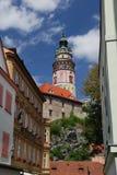 Castillo Cesky Krumlov Foto de archivo