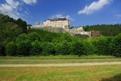 Castillo Cesky Sternberk Foto de archivo libre de regalías