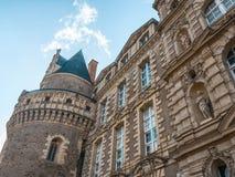 Castillo/Château de Brissac imagen de archivo