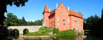 Castillo checo hermoso Fotos de archivo libres de regalías