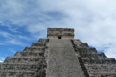 castillo chichen пирамидка itza el kukulkan Стоковые Изображения