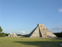 Castillo, Chichen Itza. Stock Foto