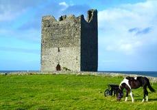 Castillo Co. Sligo Irlanda de Easky Foto de archivo libre de regalías
