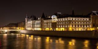 Castillo Conciergerie, París, Francia Fotos de archivo