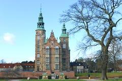 Castillo Copenhague de Rosenborg fotos de archivo