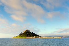 Castillo Cornualles Inglaterra del St Michaels Mount foto de archivo