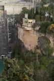 Castillo Dam Entrepeñas Royalty Free Stock Images