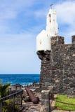 Castillo de圣米格尔在Garachico 库存照片