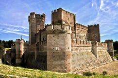 castillo de Λα mota Στοκ Εικόνες