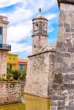 Castillo de Λα Real Fuerza, Αβάνα, Κούβα κάθετος διάστημα αντιγράφων Στοκ εικόνες με δικαίωμα ελεύθερης χρήσης